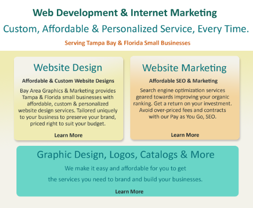 website design company, Tampa, Florida website development, e-commerce web design Tampa, Florida