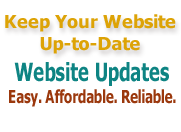 Keep your website maintained