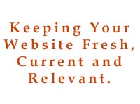 keeping your website content fresh and current
